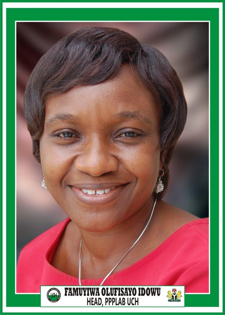 MRS. FAMUYIWA OLUFISAYO IDOWU